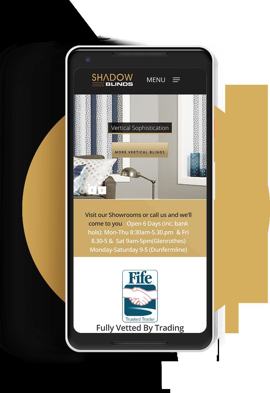 Shadow Blinds Website