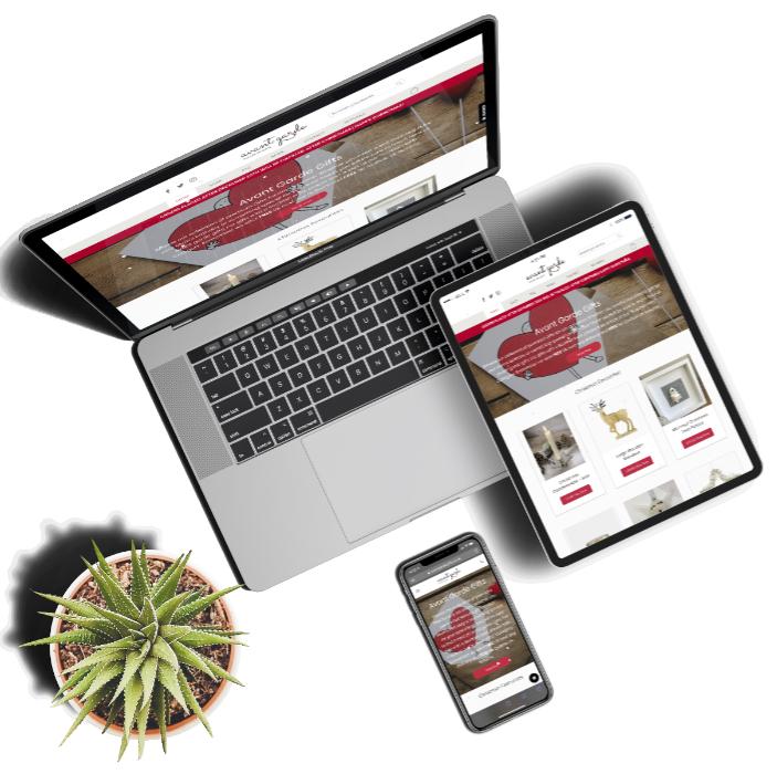 Avant Garde Website